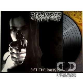 AGATHOCLES / FIGHT BACK - Split LP