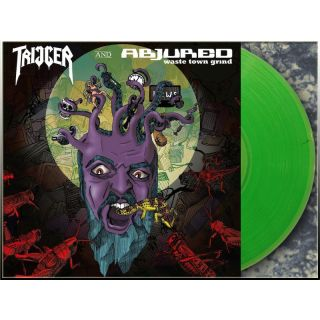 ABJURED / TRIGGER - Split LP (coloured)
