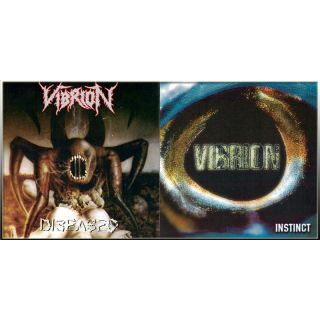 VIBRION - Diseased / Instinct CD